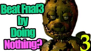 You can beat Five Nights at Freddy