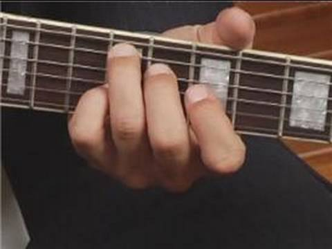 Play F#7 Chord in 4th Position on the Guitar: Root Position : Guitar Chord Dictionary 16