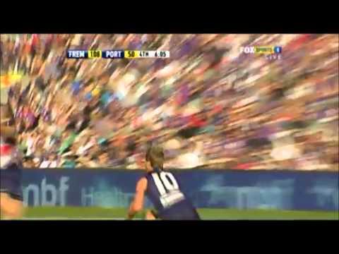 Michael Barlow BROKEN leg! - YouTube