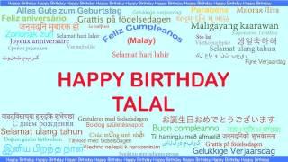Talal   Languages Idiomas - Happy Birthday