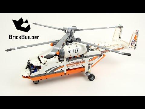 Lego Technic 42052 Heavy Lift Helicopter - Lego Speed build