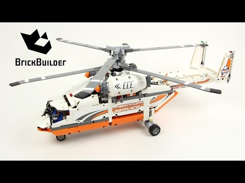lego technic 42052 heavy lift helicopter lego speed build youtube. Black Bedroom Furniture Sets. Home Design Ideas
