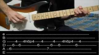 RHCP - Snow (hey oh) + live solo (lesson w/ tabs)