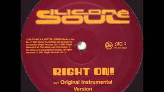 Silicone Soul - Right On (2001)