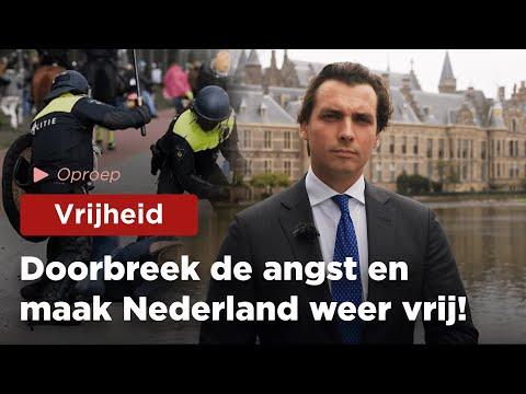 FVD wil Nederland weer vrij!