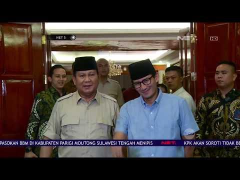 Prabowo-Sandi Memutuskan Berhenti Kampanya Sementara di Sulawesi - NET 5