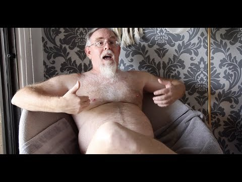 This Naked Gay Nudist Has Something To Say...