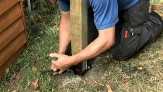 How To Replace A Damaged Or Rotten Fence Post