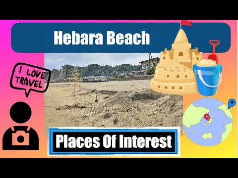 Japan Places of Interest:Sand Castle on Hebara Beach ! Hebara,Katsuura,Chiba,Japan