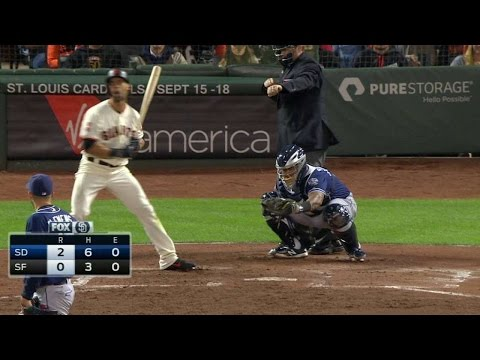 SD@SF: Clemens gets Pagan looking to end the 5th