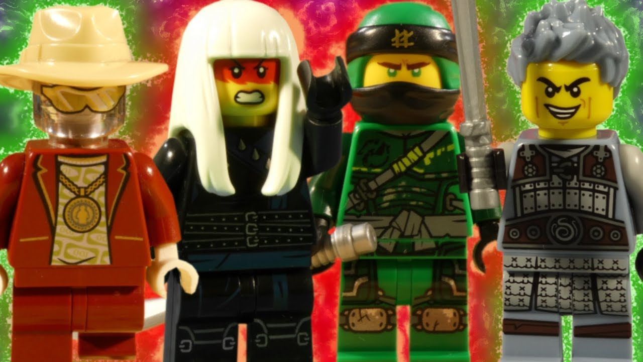 LEGO NINJAGO HUNTED PART 2 - TRAILER - RESCUE FROM THE DRAGON PIT