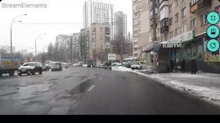 Урок Вождения жд вокзал, Севастопольская площадь Онлайн 8