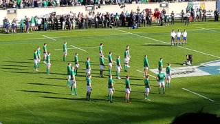 Ireland vs. New Zealand Rugby Match at Soldier Field in Chicago