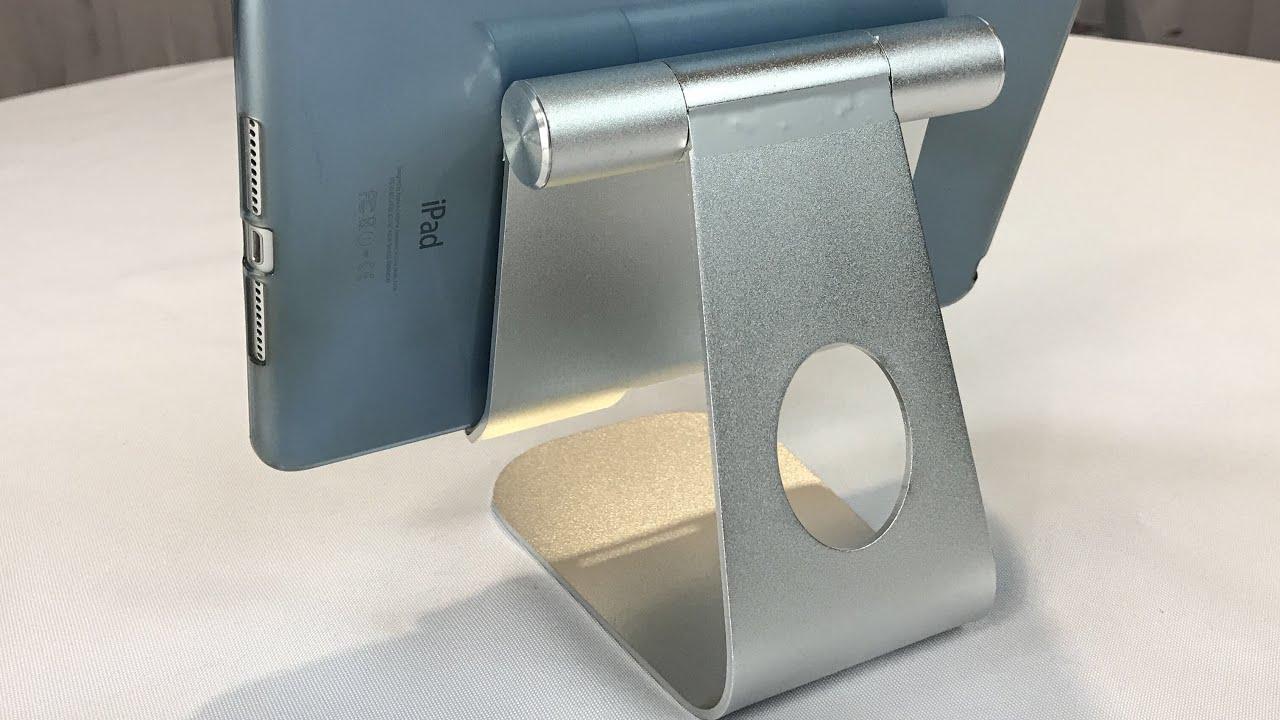 Oenbopo 360 Rotatable Aluminum Alloy Desktop Holder Tablet Stand Review