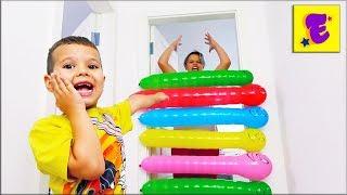 Егорка и Ярик Играют с Воздушными ШАРИКАМИ !!!