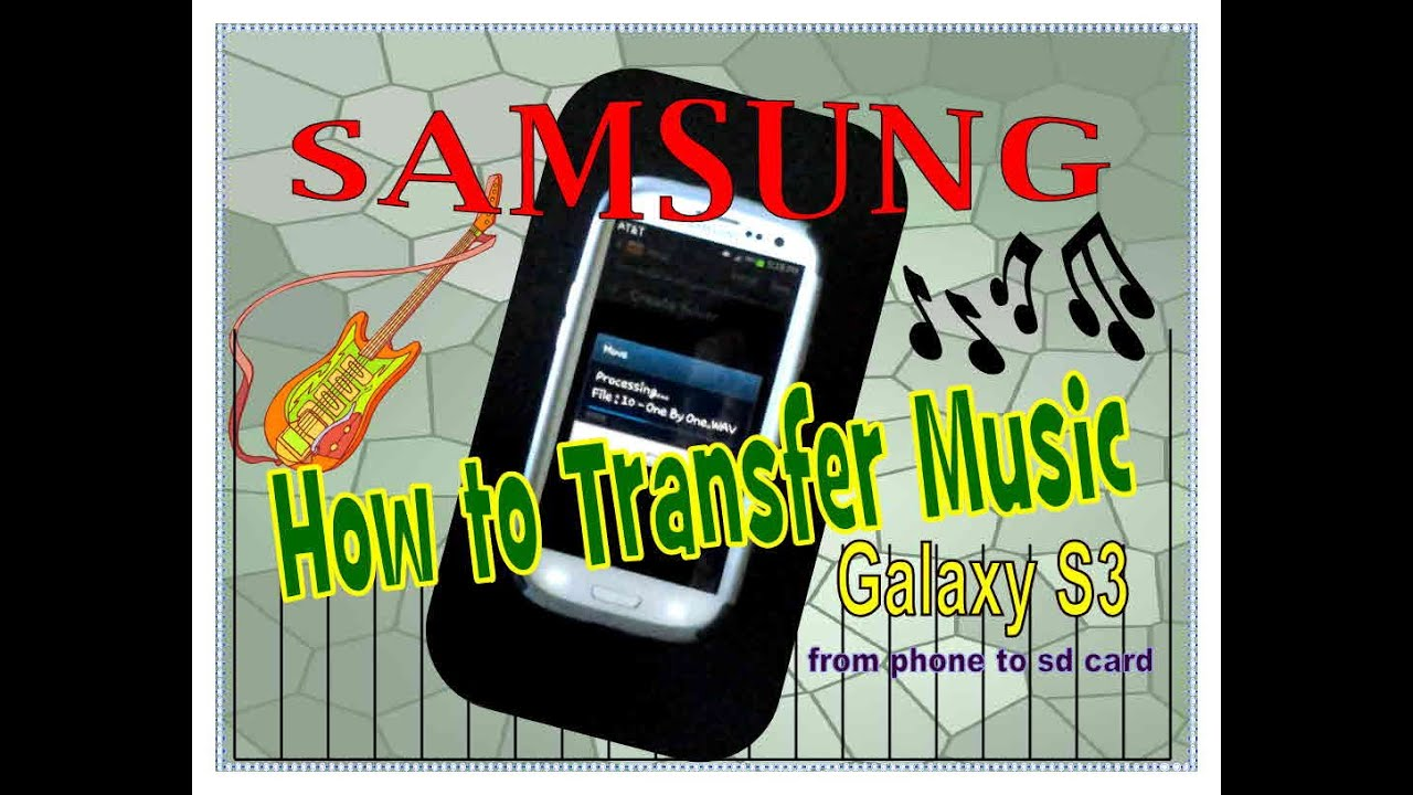 Samsung yp s3 how to add music