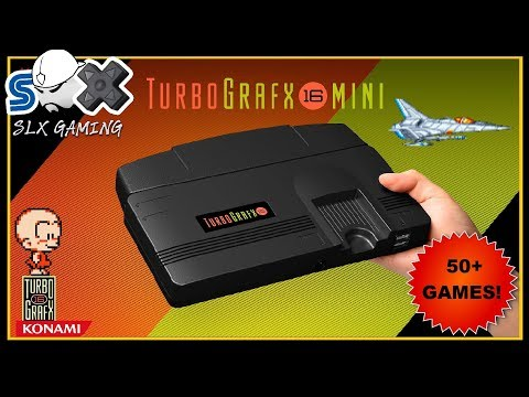 The Games Of The Turbografx 16 Mini