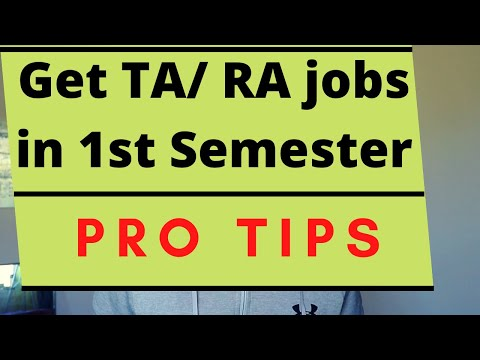 How To Find TA/RA/GA Jobs? (FAST) | Teaching & Research Assistant Salary, Work | MS In US