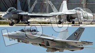 {TrueSound}™ LOUD F/A-18 Super Hornet Takeoff + Landing + Formation at Ft. Lauderdale 5/7/17 thumbnail
