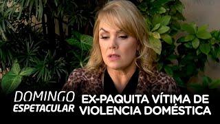Ex-paquita revela ser vítima de violência doméstica
