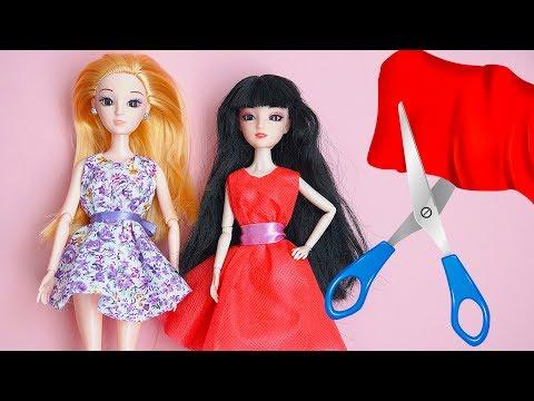 Как сшить куклам платья