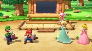 Super Mario Party - Mario vs Luigi vs Peach vs Rosalina Minigames