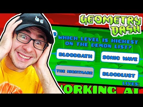 DO YOU KNOW EVERYTHING ABOUT GD? // Geometry Dash IMPOSSIBLE QUIZ GD By Colon
