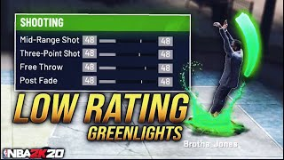 HOW TO SHOOT W/ A LOW 3PT SHOT IN NBA 2K20.. (BEST JUMPSHOT FOR NON SHOOTING BUILDS)
