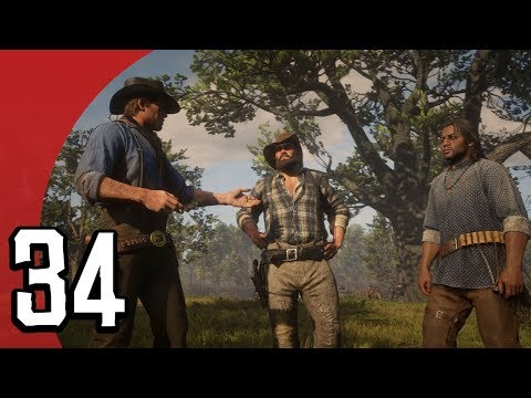 OUR DATE WITH CHARLES (Red Dead Redemption 2 #34)