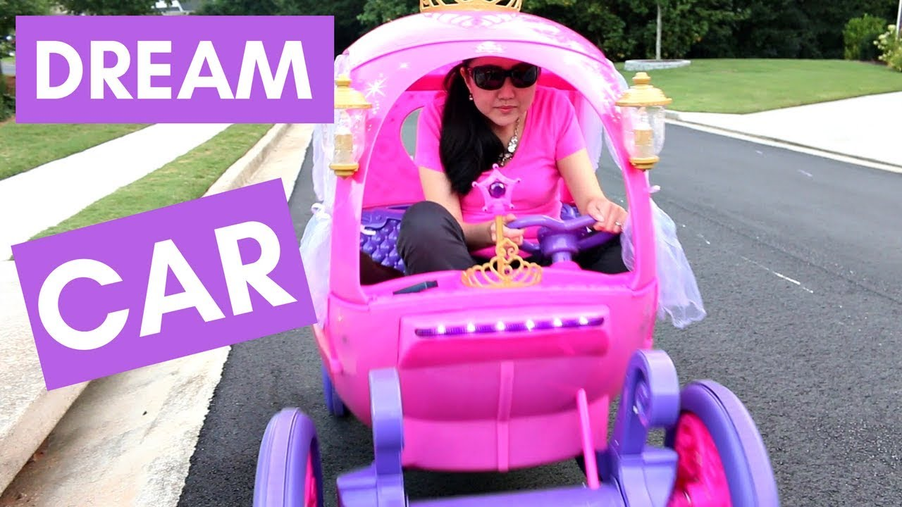 Adults Drive Disney Princess Carriage Dream Car Joyride In A