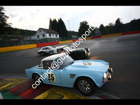 Triumph Tr4 Racing In The Spa 6 Hour For Gts11 Honours Youtube