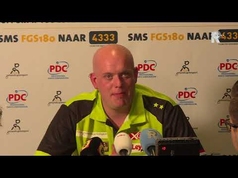 Michael van Gerwen na tweede verlies in Ahoy: 'Baal vooral voor het publiek'