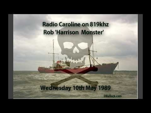 Radio Caroline 819 ~ 10/05/1989 ~ Offshore Pirate Radio [R01