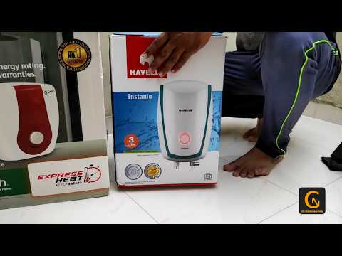 AO smith water heater unboxing and review