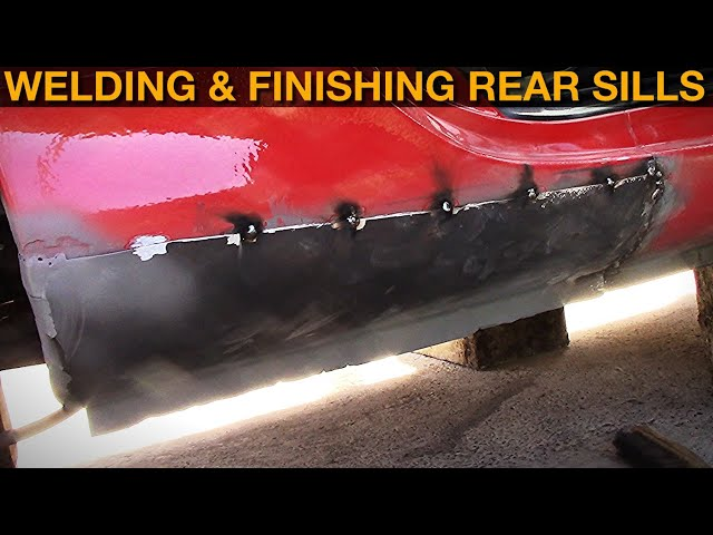 1998 Mazda Mx-5: Welding & Finishing New Rear Sills
