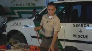 Search & Rescue Video Training: Knots (part 2)