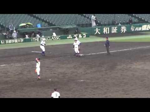 20170326 春の甲子園 2回戦 健大高崎ホームスチール