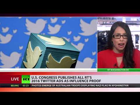 Still searching for Russiagate evidence? US publishes all RT's 2016 Twitter ads