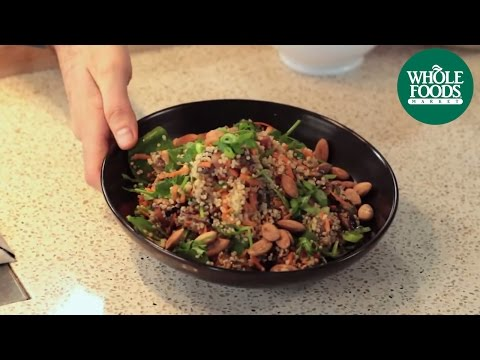 Healthy Meal Ideas: Quinoa with Balsamic Roasted Mushrooms thumb