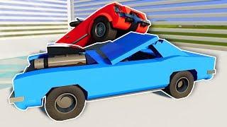 DEMO DERBY IN CUSTOM ARENA! - Brick Rigs Multiplayer Gameplay - Lego Racing
