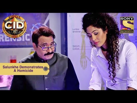 Your Favorite Character | Dr. Salunkhe Demonstrates A Homicide | CID