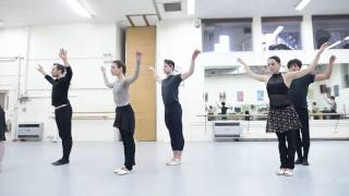 Adagio Hammerklavier: James Forbat on dancing Hans van Manen | English National Ballet