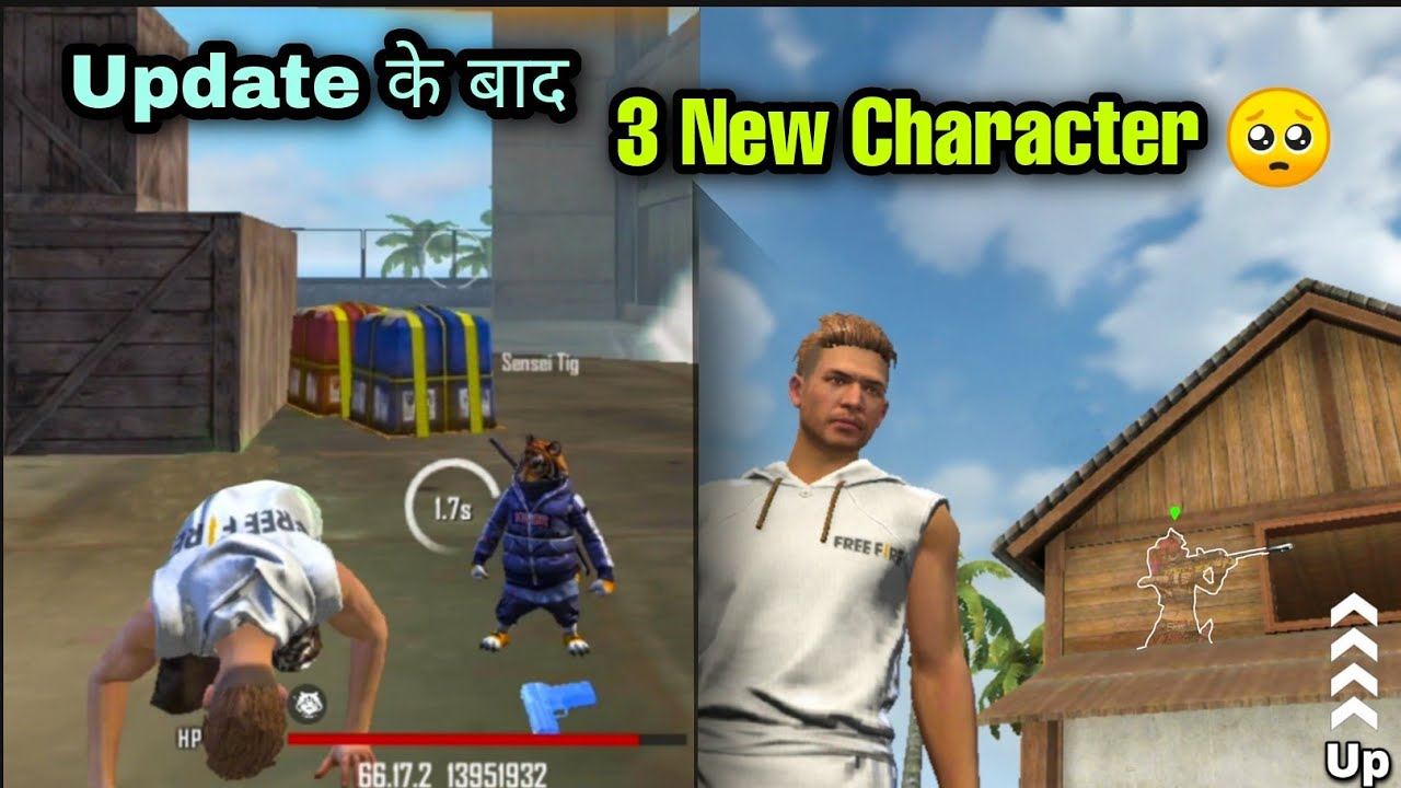 Ob29 Update New Charecter Ability / New Update Free Fire