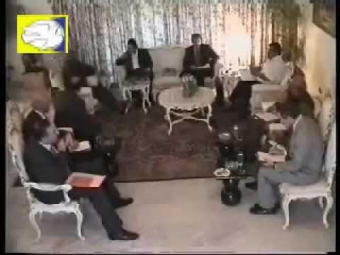 Image result for مسعود رجوی در جلسه با هبوش