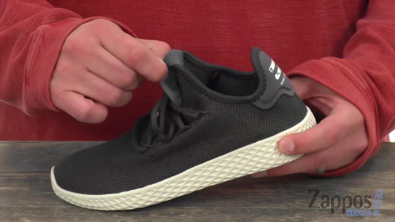 7da8909c8fb43 adidas Originals Kids PW Tennis HU (Big Kid) SKU  8966935 - YouTube