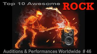 Top 10 Awesome ROCK Auditions Worlwide #46