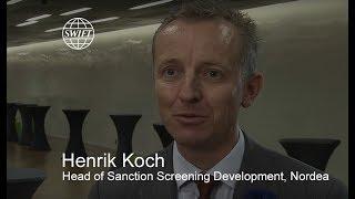 Henrik Koch, Head of Sanction Screening Development, Nordea