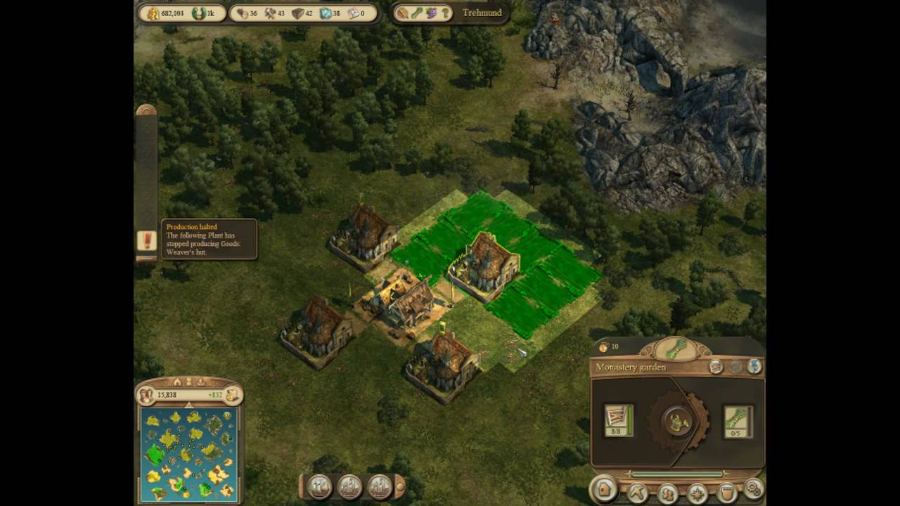 Anno 1404 Efficient Building Layouts.Anno 1404 Venice Efficient Building Layouts Monastery Gardens