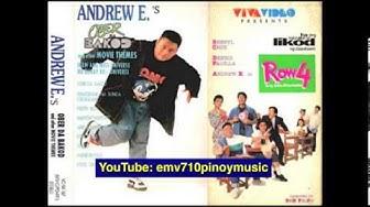 Row 4 Ang BALIKtoriaNs - Andrew E (Movie Theme)