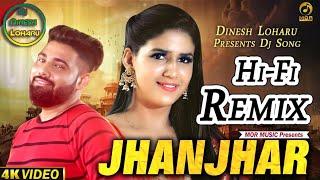 JHANJHAR Dj Remix Video Song | Bittu Sorkhi New Hr Song 2019 Jhanjhar Jharnate Q | DEEPAK UMARWASIA